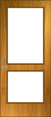 G2 Glass Lite Door Elevation