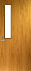 HNV Glass Lite Door Elevation