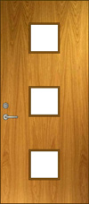 V3 Glass Lite Door Elevation