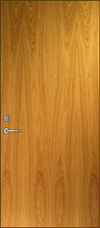 F Flush Dutch Door Elevation