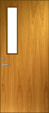 NV Glass Lite Door Elevation