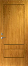 SP-34 Solid Panel Door Elevation