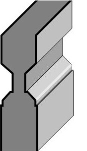 Steel Panel Moulding Profile RP-A